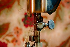 Dirty Sewing Machine