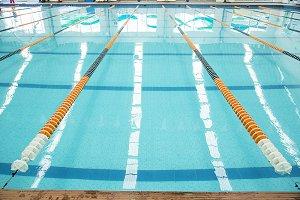 Blue Pool Water Photos On Creative Market