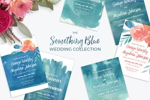 Something Blue Wedding Collection