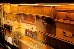 furniture made up of old