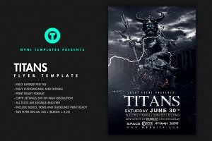 TITANS Flyer Template