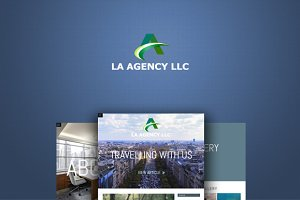 LA AGENCY LLC - HTML Blog Template