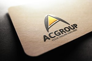 Ac Group / A Letter Logo