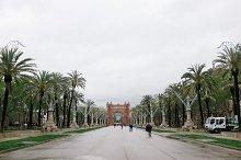 Barcelona Walkway