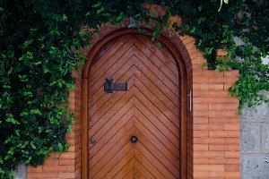 Doorway in Green