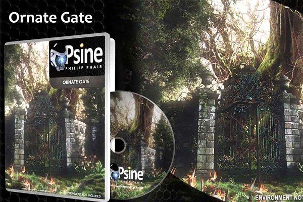 3D Urban: PhilDoes3D - Ornate Gate