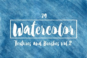 79 Watercolor Tool Pack 2