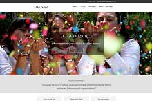 Do Good 501(c) WordPress Theme by Bonnie Martin in Non-Profit