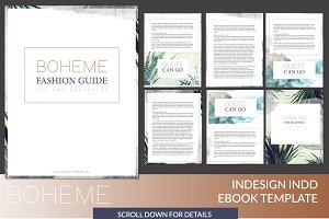 Boheme INDD Ebook Template