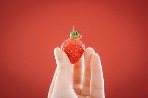 Strawberry - set of 3 photos