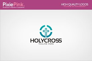 Holy Cross Logo Template
