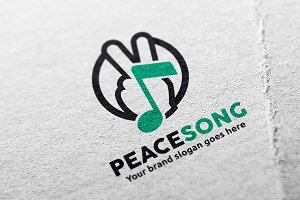 Peace Song Logo