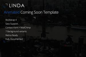 Linda - Coming Soon Template