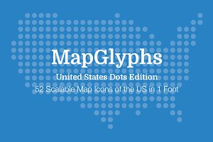 MapGlyphs Dots - United States
