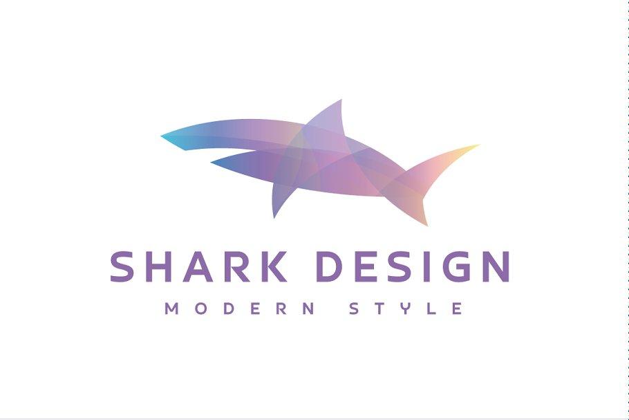 Shark Logo Design ~ Logo Templates ~ Creative Market