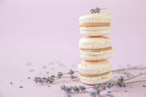 Traditional French Dessert Macarons