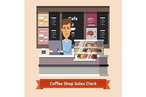 Coffe shop assistant