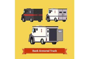 Bank armoured cars