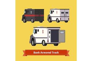 Bank armoured cars