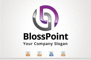 BlossPoint,B,P Letter Logo