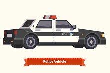 Police vehicle.