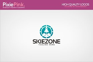 Skie Zone Logo Template