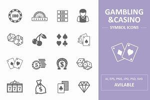 Gambling&Casino Symbol Icons