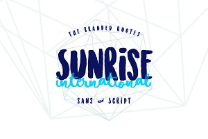 Sunrise International 50% Discount!