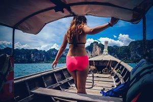 Adventurous Girl