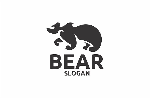 Bear in Logo Templates - product preview 1