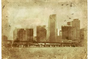 Old School Miami Vintage Photo
