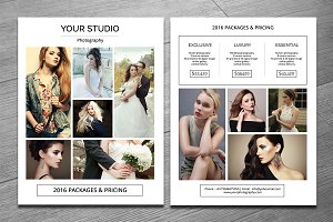 Photography Pricing Template-V276