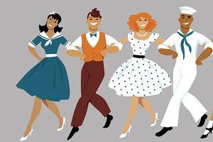 Broadway chorus line
