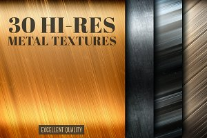 30 gold and silver metal textures