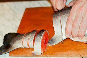 Cutting of Fish