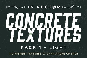 Vector Concrete Textures | Pack 1