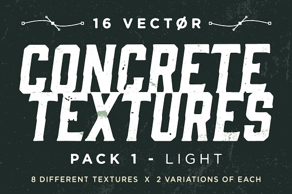 Vector Concrete Textures Pack 1