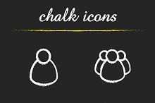 Conference icons. Vector