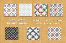 Seamless  pattern  twisted  rings