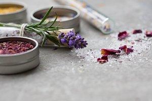Bath Salts, Flowers & Herbs