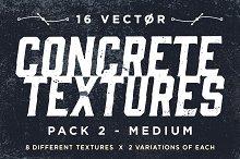 Vector Concrete Textures | Pack 2