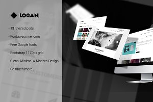 Logan - Clean & Minimal Templates