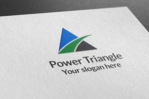 Power triangle Logo