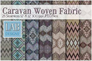 25 Seamless Woven Fabric Textures