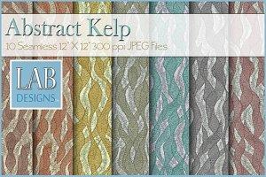 10 Seamless Fabric Textures Kelp