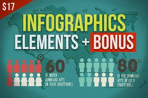 Infographic Elements & Graphs