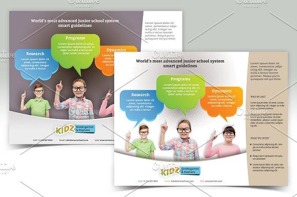 Multipurpose School Flyer Templates