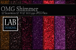 12 OMG Shimmer Textures