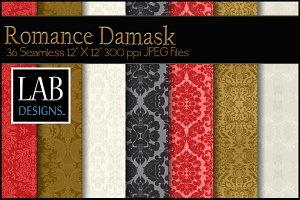 36 Romance Damask Textures