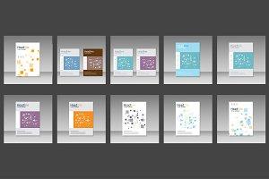 Molecule brochure template